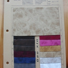 现货供应5091绒面仿高固疯马特殊皮革,毛布底适用各种包材面