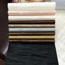 老虎纹半PU人造皮革 高档软包转饰移门革 环保墙模皮塑