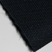 大量现货供应1.0mmPVC 黑色钻石纹 用于箱包、