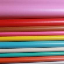 义乌厂家直销超低价PVC细纹87纹人造革钱包内里皮盒包装皮革