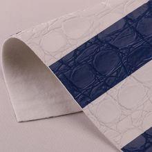 现货供应鳄鱼纹PU革 适用于:手袋、鞋材、包装、装饰等