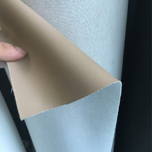 0.9mm表带底料。磨砂革PU料,杏色磨砂料