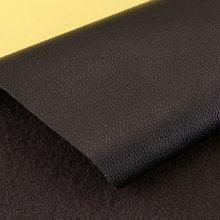 现货供应导电革pu羊纹针织弹力起毛0.6mm可用于腰带、手套