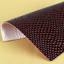 大量现货供应石头纹PVC革 适用于:箱包手袋、鞋革等