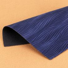 大量现货供应波浪纹PU革 适用于:箱包手袋、鞋革等