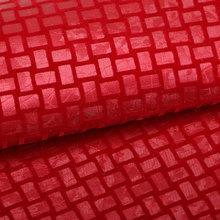 精品面料 植绒PU编织纹仿棉绒底1.0mm 适用于鞋包