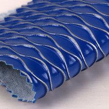 新品热卖 PVC波浪纹拉毛底1.4mm 适用于箱包、包装革等
