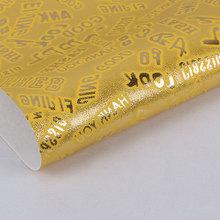 现货供应 贴膜 字母文字纹PU革0.8-0.9mm 鞋革用