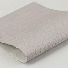精品面料压花湿法PU1.0鳄鱼纹弹力起毛底用于箱包手袋 鞋革