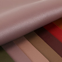 高端面料 PVC纳帕纹麂皮绒底1.8mm适用于箱包鞋革