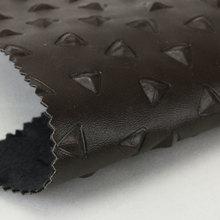 精致简约面料 pu三角形仿棉绒底1.1mm 可用于女包饰品等