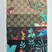 数码图案新,自创图案多 PVC花鸟纹 用于箱包,鞋,装饰等