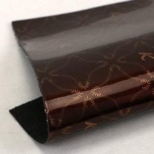 淋膜/淋涂PU艺术印花纹弹力起毛底1.2mm 适用于箱包手袋