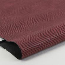 精品现货 PU牙签纹 仿棉绒底0.9mm 适用于鞋革等