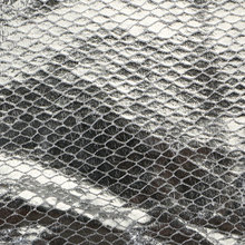 现货供应蜥蜴纹PU革 0.6mm 针织起毛底  适用于鞋材等