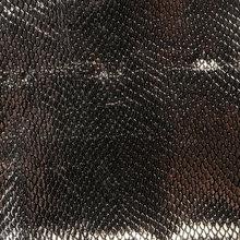蜥蜴纹 PU革 0.8mm 针织起毛底 适用于鞋材等