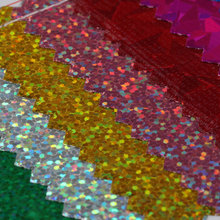 精选特色 涤纶 镭射布 网布底 0.3mm 适用:箱包
