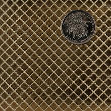 PVC 金属大方格压纹磅布底0.4装饰, 电子包装