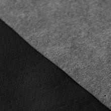 鞋内里 环保柔软pu猪皮纹水刺底0.5mm
