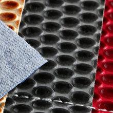 专业生产 PVC弹力起毛底圆点纹 1.2mm 用于箱包