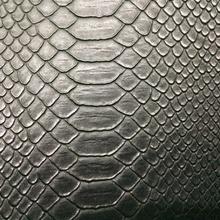 PVC环保鳄鱼纹黑色大量现货REACh86项