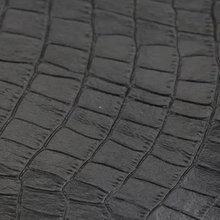 竹节鳄鱼纹表带皮带手袋鞋材箱包皮具压延PVC人造革