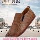 2017年春夏新款珠光后段压纹蛇纹PU面料,PVC革,鞋革,