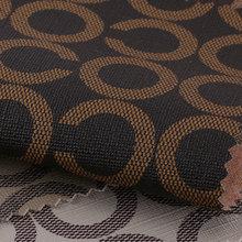 新款产品上线 印刷字母纹 PVC 机织起毛布 0.8-0.9mm 可用于:箱包手袋