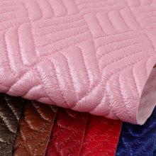 专业PVC仿绣线 几何纹 针织弹力起毛1.2mm 适用于箱包手袋,化妆包等