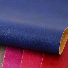 专业经营疯马牛皮纹PVC 针织弹力起毛1.1mm适用箱包手袋、化妆包等