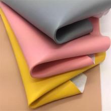 无溶剂 超纤 0.8mm 超纤 小纳帕纹  箱包鞋材面料