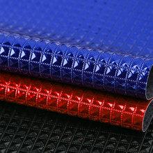 创丰皮革 贴膜,吸纹PU 钻石纹 针织起毛底0.7mm 用于装饰,鞋革,箱包手袋等