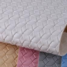 PVC喷涂编织纹 仿棉绒底1.4mm 适用于箱包手袋,鞋革,电子包装革