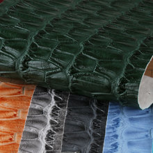 鑫茂盛 蛇纹PVC革 1.3mm仿棉绒底 喷涂 适用于:箱包手袋、鞋革等、