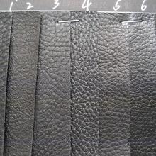 黑色荔枝纹止滑皮鞋材工艺包装沙发箱包手袋帽子装璜腰带面料