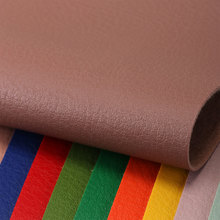 大量现货PVC革 荔枝纹 仿棉绒底1.1mm 适用于:鞋革、箱包、女包等